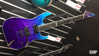 ESP E-II Series Spotlight - ESP at NAMM 2018