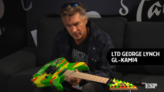George Lynch - ESP at NAMM 2018