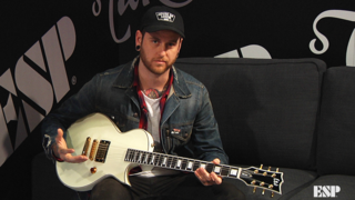 Neil Westfall (A Day To Remember) - ESP at NAMM 2018