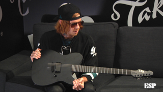 Alan Ashby (Of Mice & Men) - ESP at NAMM 2018