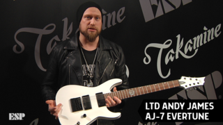 Andy James - ESP at NAMM 2018