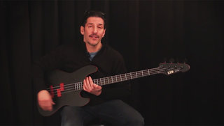 Frank Bello (Anthrax) on the LTD FB-J4