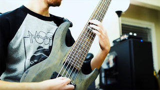 Brian Krahe on the LTD B-206SM Bass