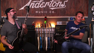 Andertons Music Tries Out E-II (w/Chappers & The Captain)