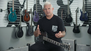 Billy Graziadei (Biohazard/Powerflo) on the LTD EC-1000 EverTune