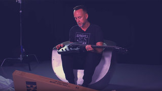 Nergal (Behemoth) Unboxes the LTD Nergal-6