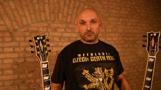 My new ESP E-II Eclipse guitars
