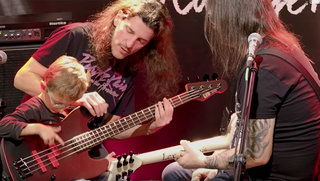Frank Bello/Gary Holt Clinic at Klangfarbe