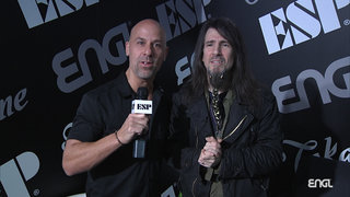 "2019 NAMM Show: Ron ""Bumblefoot"" Thal ENGL Amps Interview"