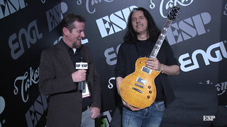2019 NAMM Show: Alex Skolnick (Testament) Interview