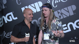 2019 NAMM Show: Jasio Kulakowski (Kobra and the Lotus) ENGL Amps Interview
