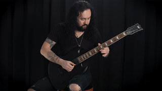 Frédéric Leclercq (Sinsaenum) on the LTD Viper-400 Baritone