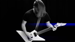 Mark Kloeppel (Misery Index) on the LTD EX-401