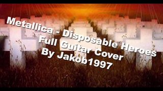 Disposable Heroes Guitar Cover
