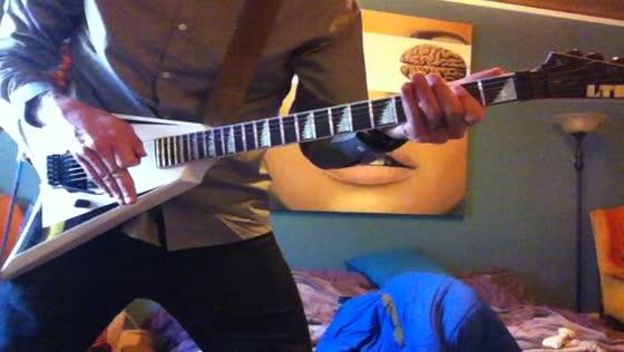 New LTD V guitar :)