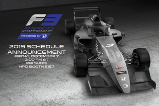 F3 Americas 2019 Schedule Announced at PRI Show