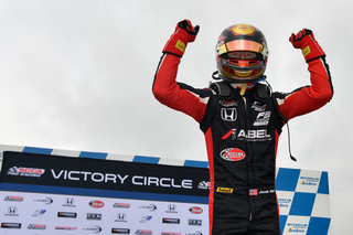 Jacob Abel Rallies at Road Atlanta for Pair of Wins in F3 Americas Championship