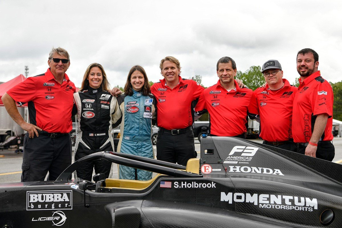 Momentum Motorsports Adds W Series Driver Megan Gilkes to F3 Americas Roster
