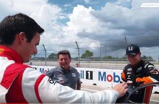 Scott Goodyear Schools F3 Americas Champions in Honda Civic Type R Challenge