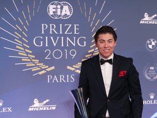 F3 AMERICAS CHAMPION DAKOTA DICKERSON RECOGNIZED AT PRESTIGIOUS FIA PRIZE GIVING CEREMONY IN PARIS