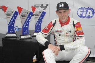 Konrad Czaczyk Dominates F4 US Championship Debut Weekend