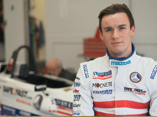 Kirkwood Finishes in Top 10 During Team USA Scholarship Debut at Brands Hatch
