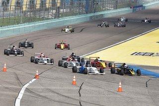 F4 U.S. Debuts 33 Car Grid for Season Opener