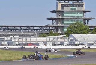 Indianapolis Motor Speedway Trackside Report Day 1