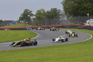Extreme Weather Conditions Creates Intense Racing Conditions for F4 U.S. Drivers