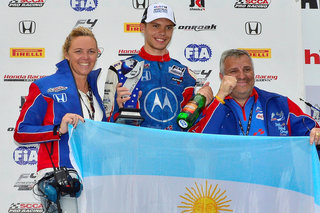 F4 Drivers in Action- Leguizamon Pledges Season Winnings to Hurricane Victims