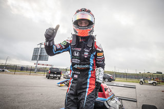 Braden Eves Takes Maiden Win at Circuit of the Americas