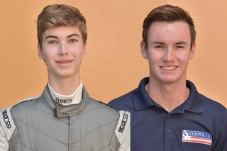F4 Drivers in Action: Locke and Kirkwood Spend  Time Off-Track Giving Back