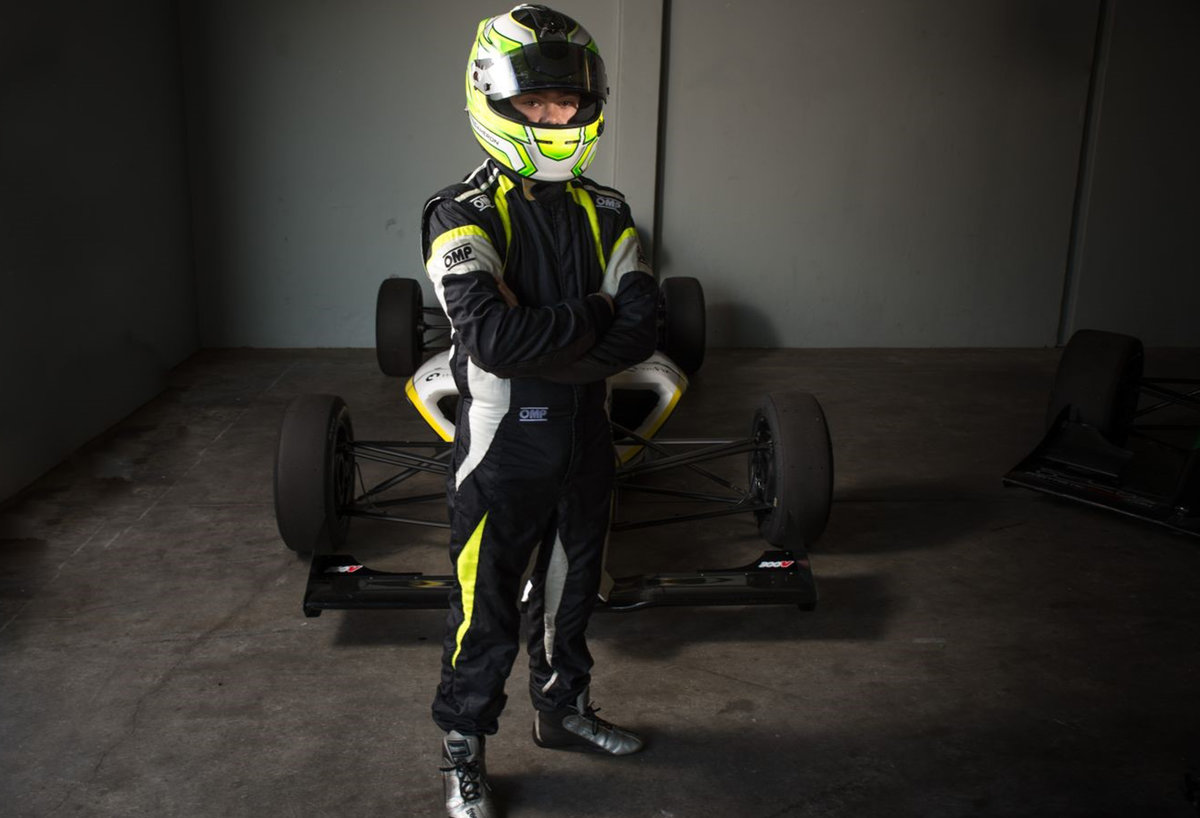 Group A Racing Signs South African Rookie Cameron O Connor F4 Us