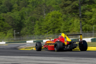 Speed is there for Kent Vaccaro and Skip Barber Momentum F4