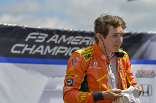 IndyCar Driver Zach Veach Set to Demo F3 Americas Championship Car at Mid-Ohio