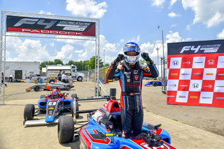 Rasmussen Scores Fourth Win at F4 U.S. Mid-Season Finale in Mid-Ohio