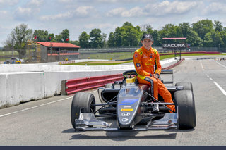 F3 Americas Championship Car 'Inspires Confidence' in Zach Veach