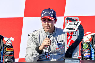 DC Autosport and Dickerson Win First F4 U.S. Championship Race at Mid-Ohio