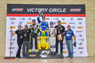 Crosslink/Kiwi Motorsport Sweeps Podium in Weekend Finale at Pittsburgh