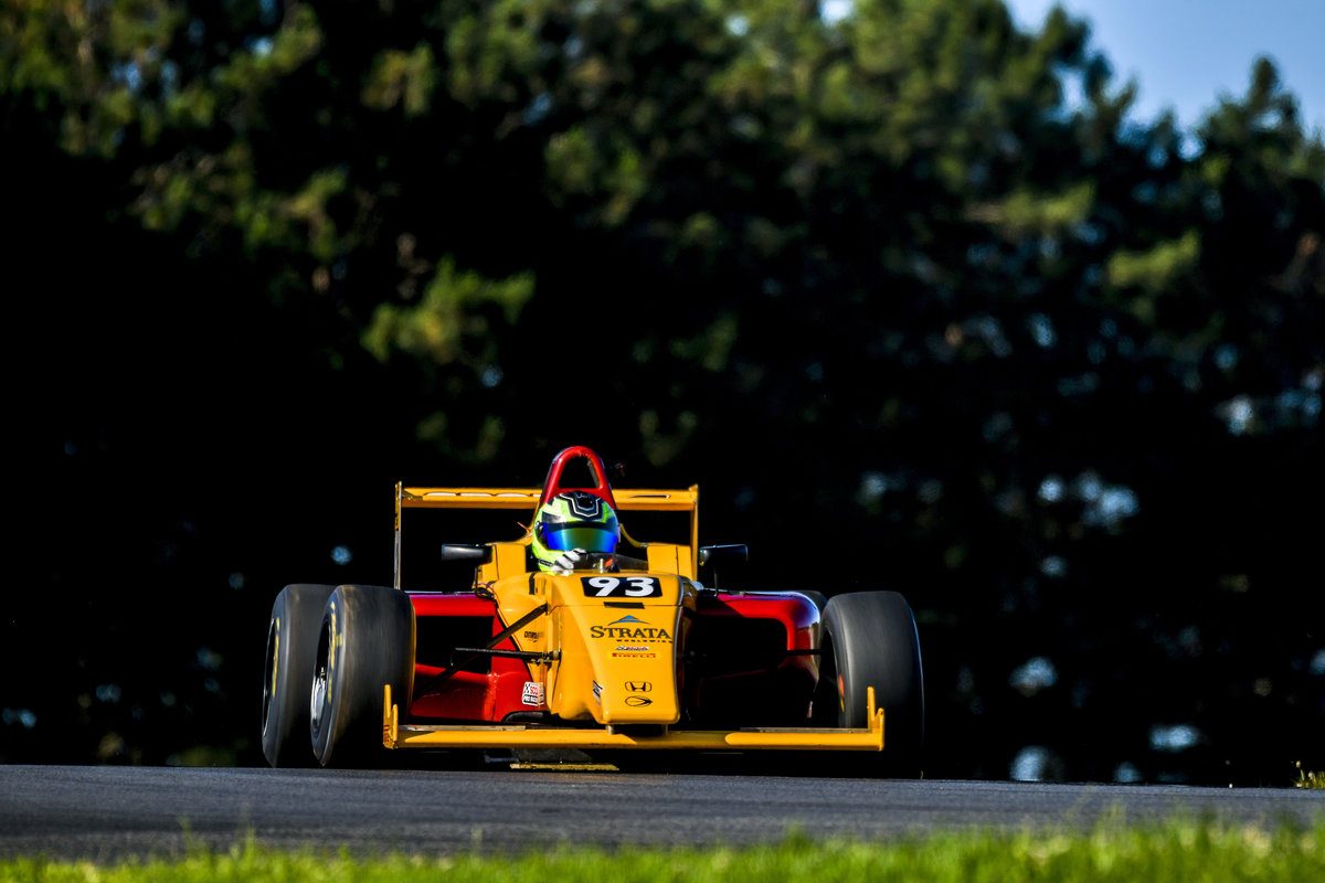Group-A Racing's Rookie Cameron O'Connor Scores First Points At Pittsburgh