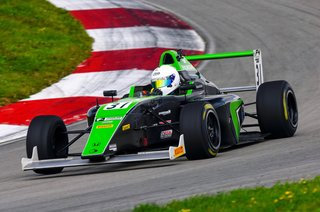 Top Five Finish Highlights Conrad Clark's Up and Down Weekend at NJMP