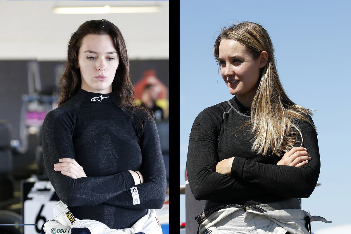 The Search for the Next Female F1 Driver Continues with Two F4 U.S. Alumni in the Running