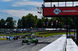 Dylan Tavella Rises to Fourth Place Result Despite Trying Weekend