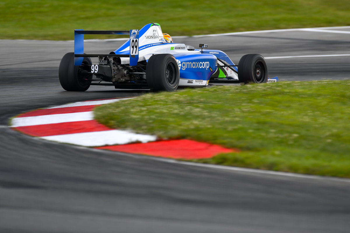 Gui Peixoto Confirms Evolution with First Pole and Double Podium in Mid-Ohio
