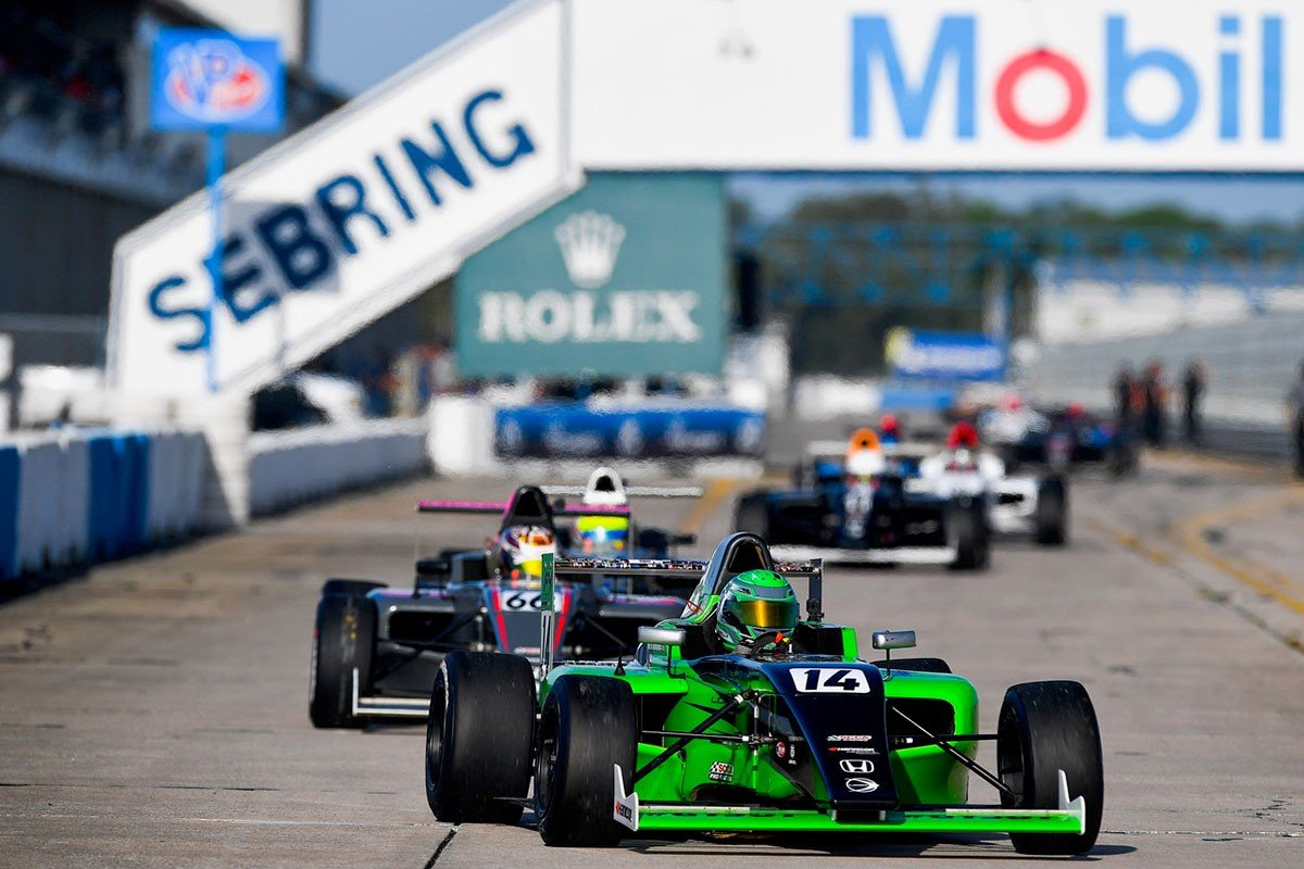 Triple Points Scoring Weekend for Dylan Tavella Including Podium in Race Two