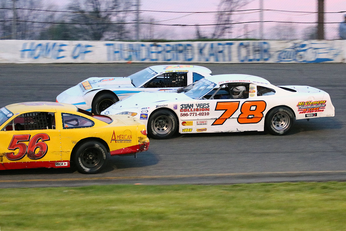 RANDA WINS FLAT ROCK THRILLER; EVERAGE-EARLEY-FARMER ALSO VICTORIOUS