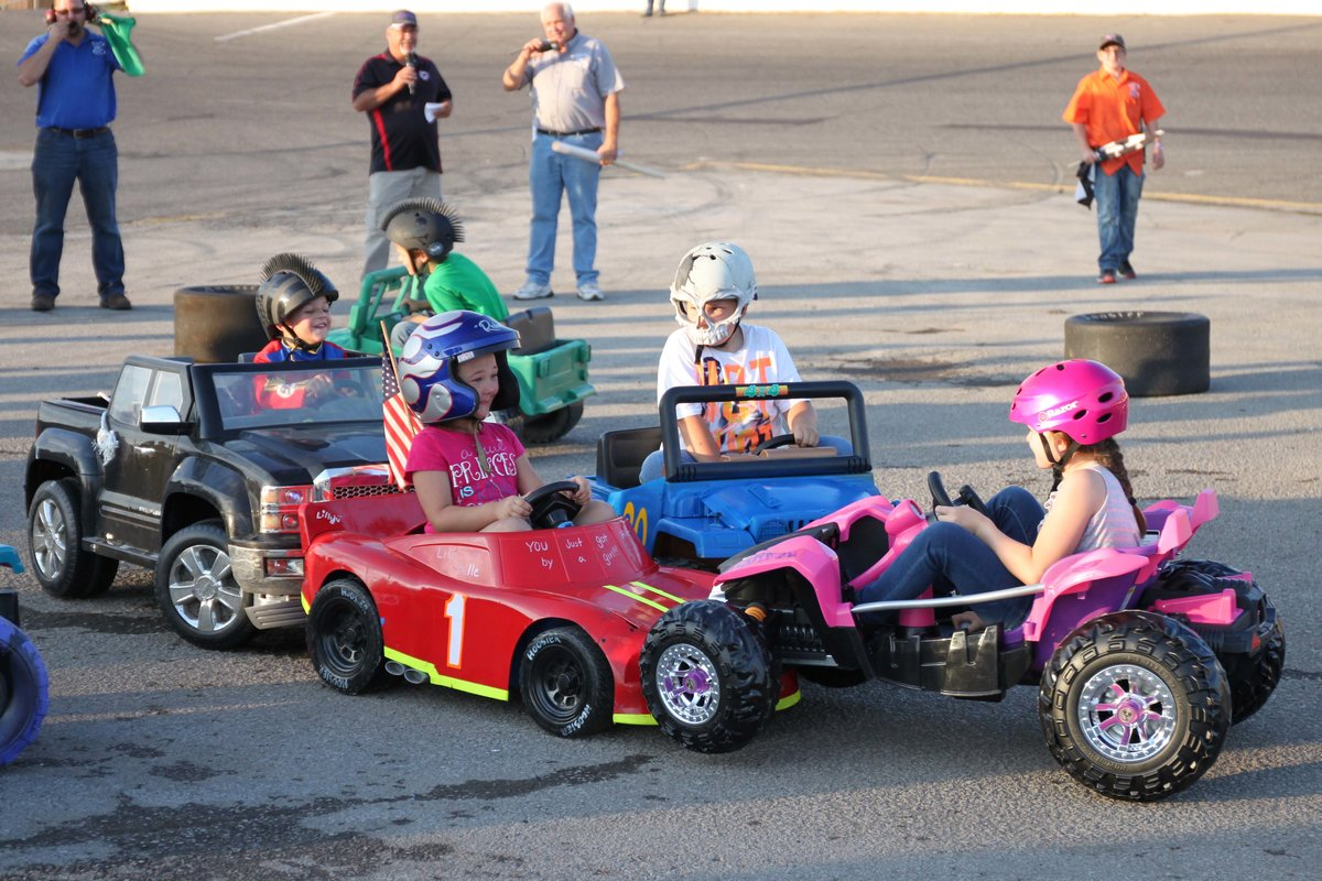 AUTOGRAPH NIGHT, KIDS POWER WHEELS DERBY AT FLAT ROCK SATURDAY!