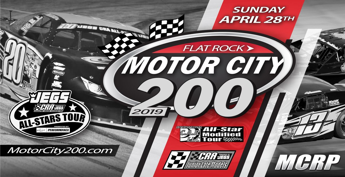 Motor City 200 Packs Big Action in Historic Event