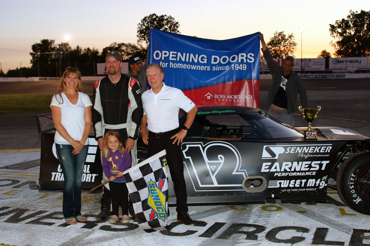 BERGAKKER CLEANS HOUSE AT FLAT ROCK—2 WINS, 1 NIGHT!