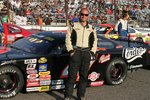 Brian Campbell With Car